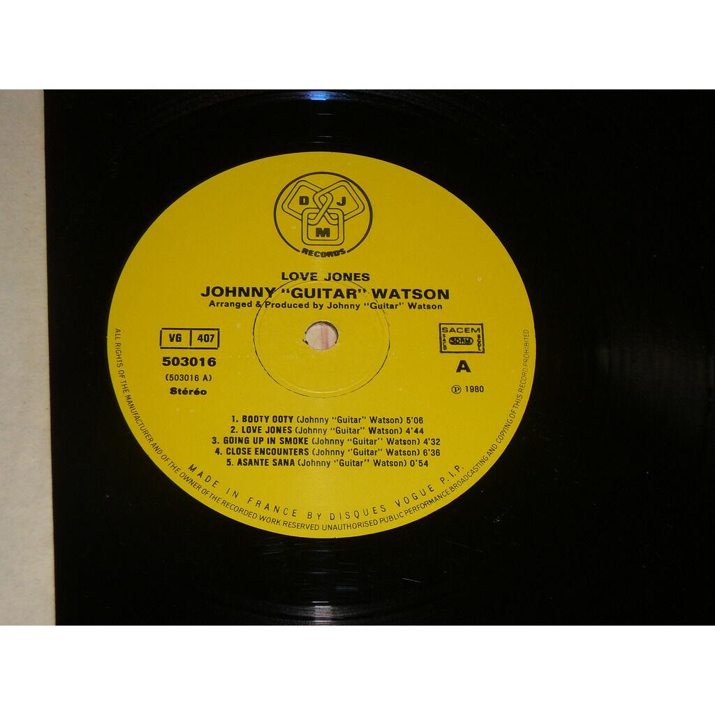 Johnny Guitar Watson Love Jones