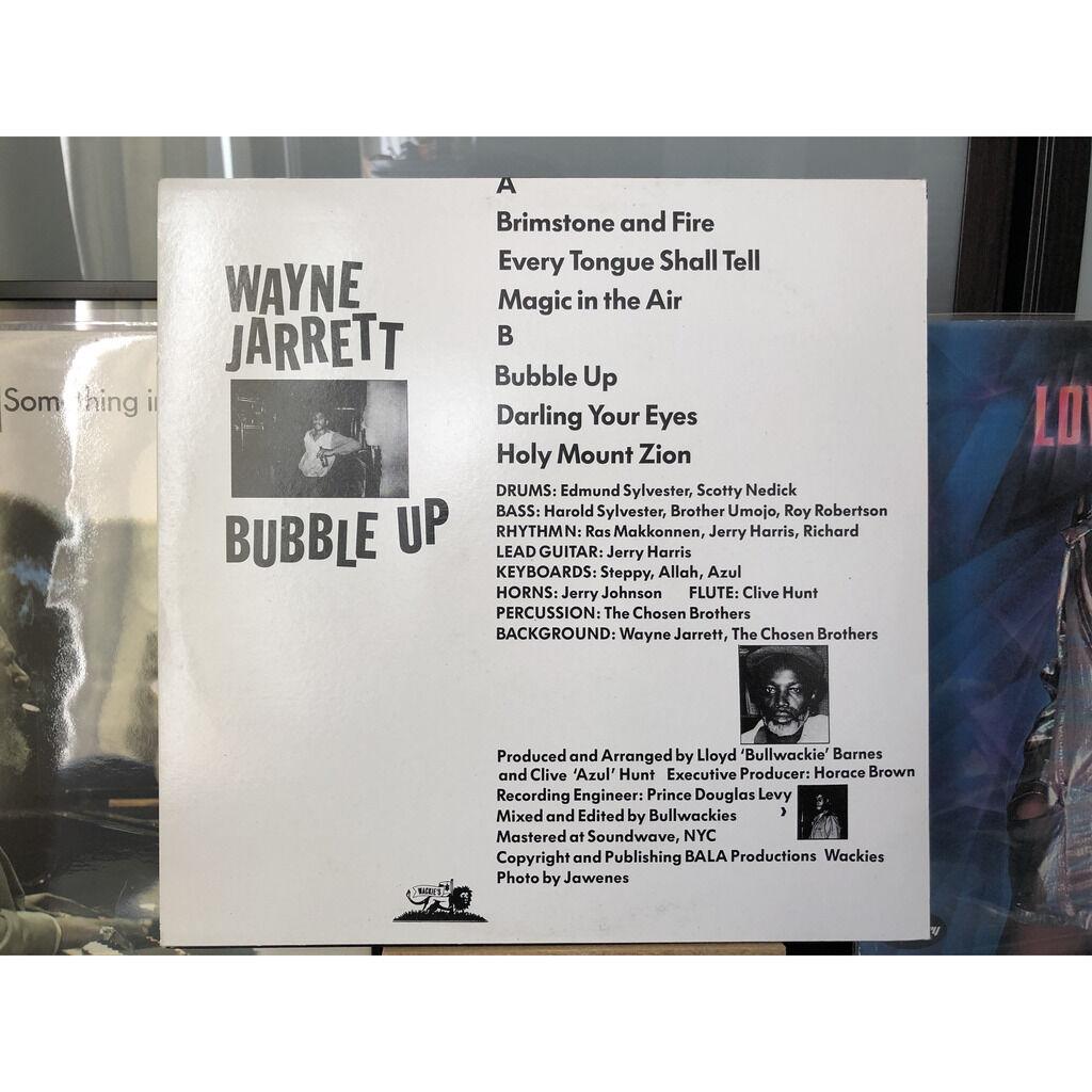wayne jarrett Bubble up