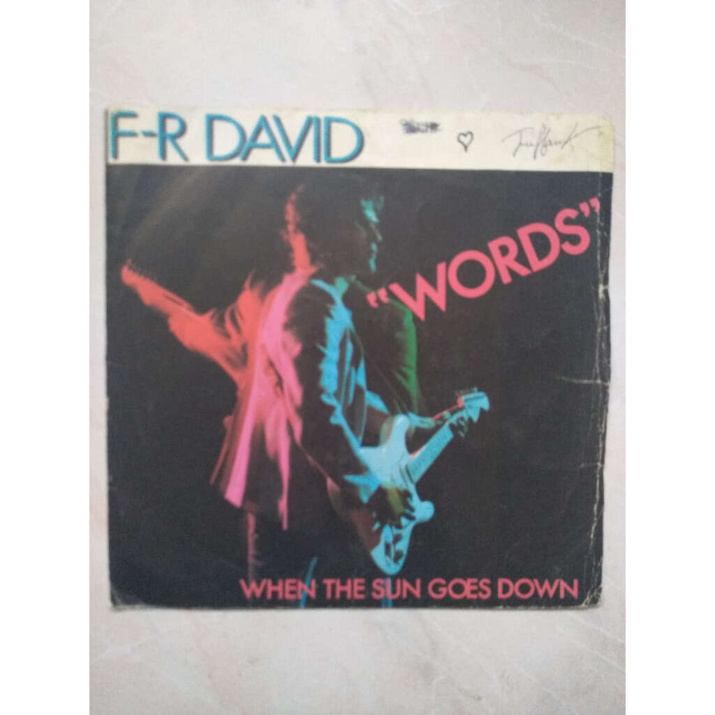 fr david words