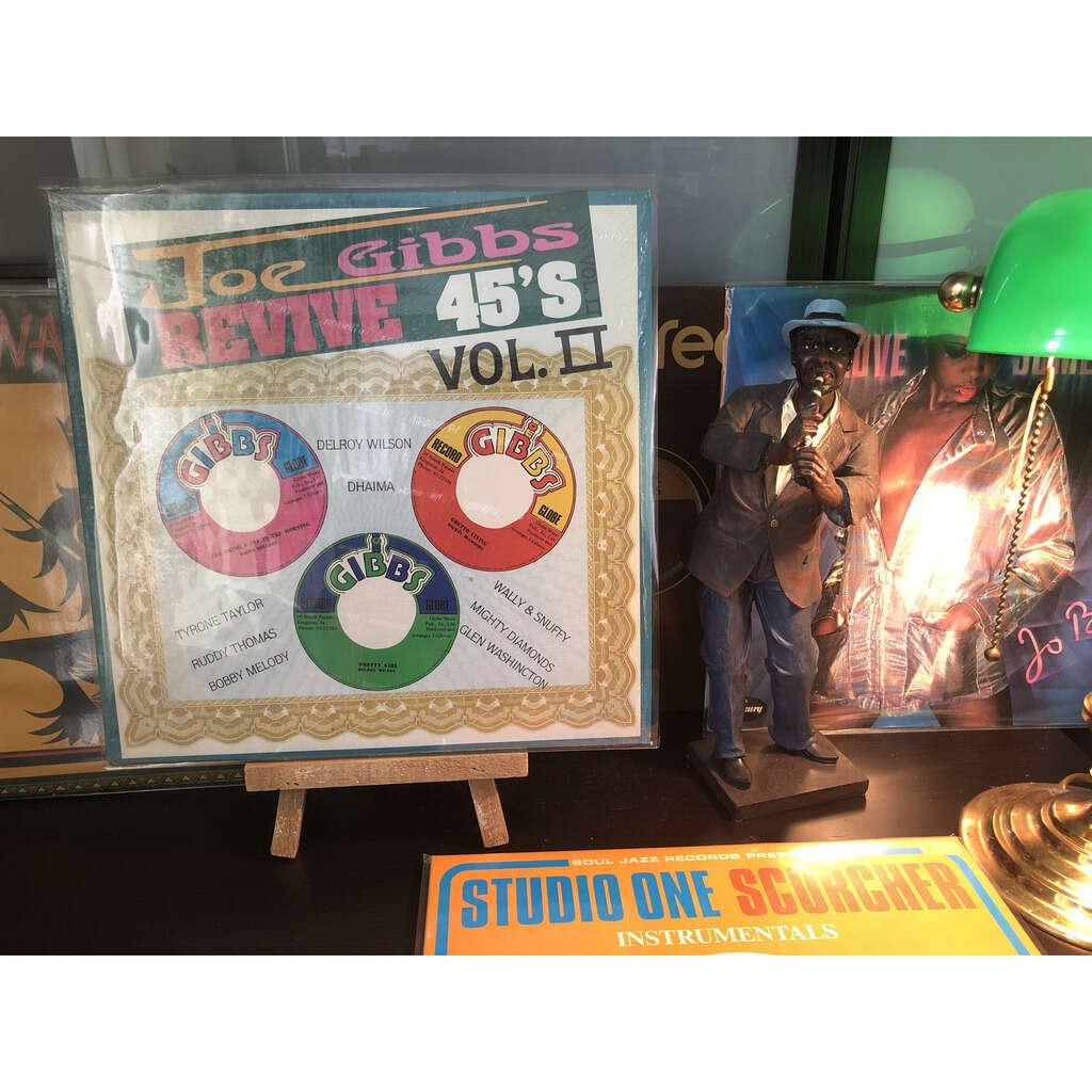 Various - Joe Gibbs revive 45's Vol.II Various - Joe Gibbs revive 45's Vol.II
