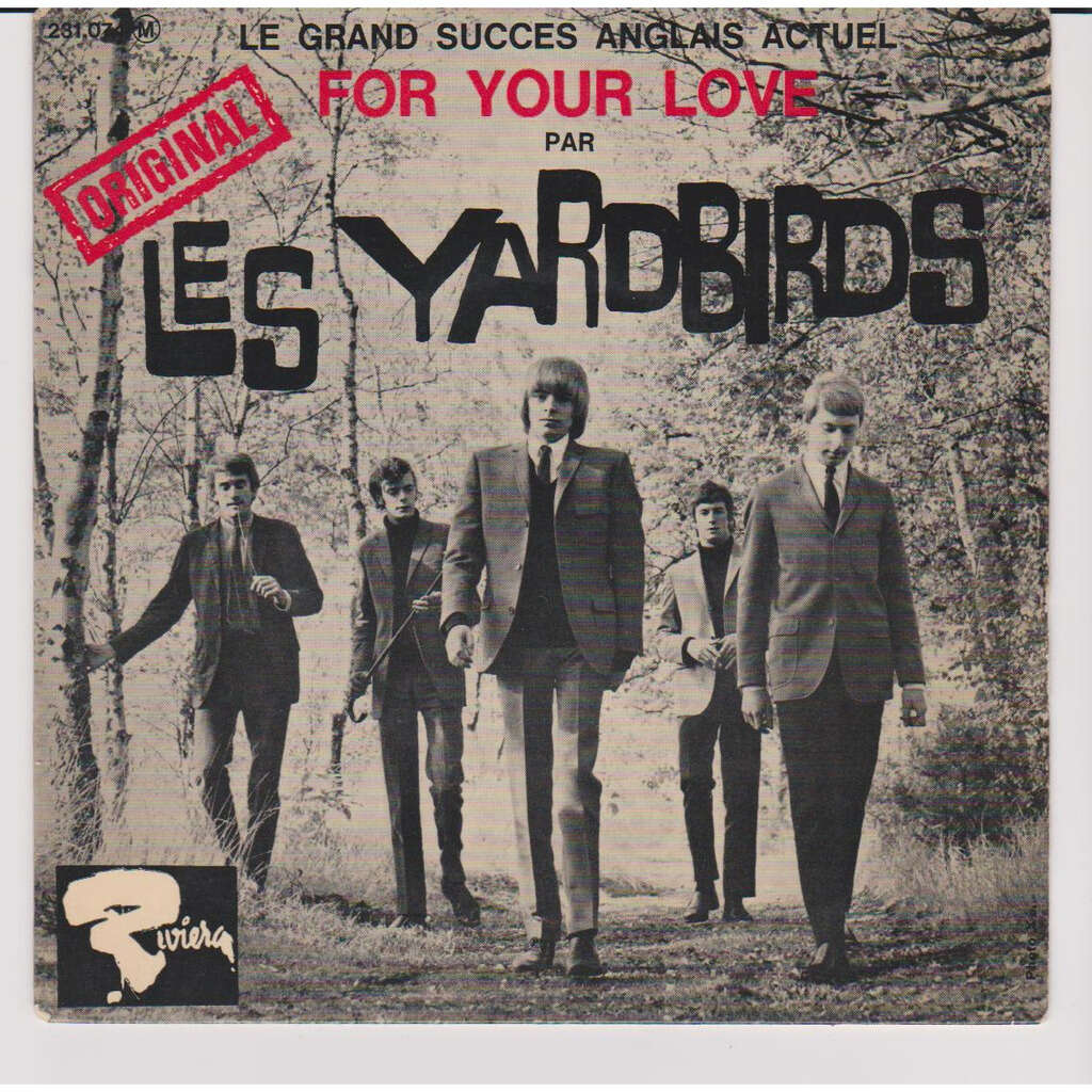 clapton, eric & the yardbirds FOR YOUR LOVE GOT TO HURRY A CERTAIN GIRL I WISH YOU WOULD
