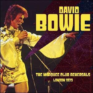 David Bowie The Marquee Club Rehearsals London 1973