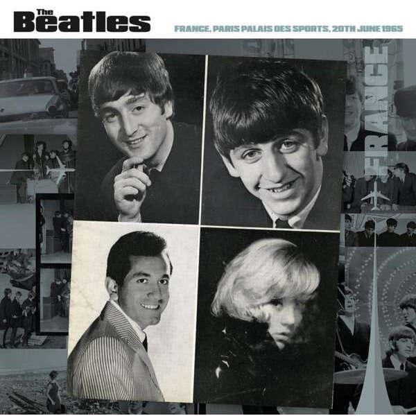 Beatles France 1965 Green Vinyl