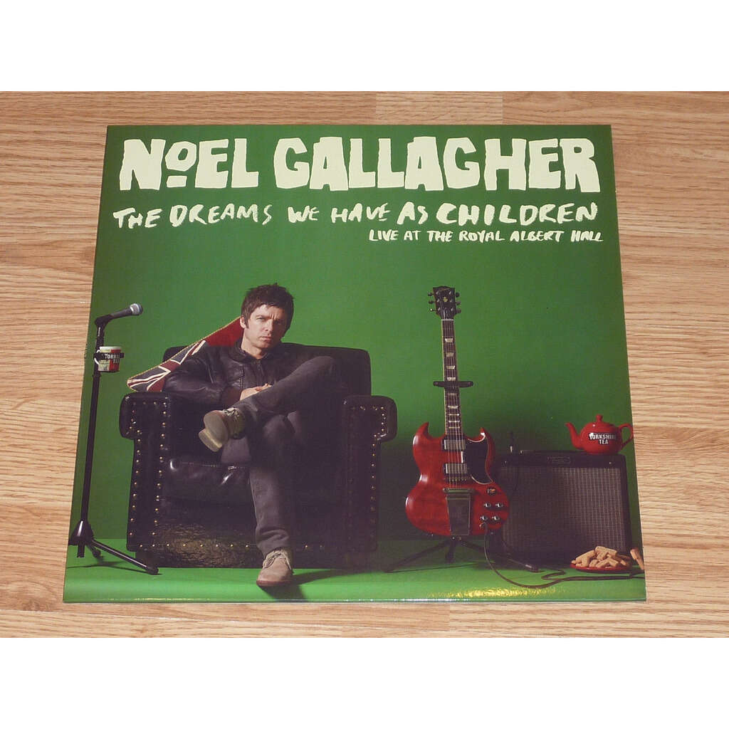 NOEL GALLAGHER THE DREAMS WE HAVE AS CHILDREN LP WHITE
