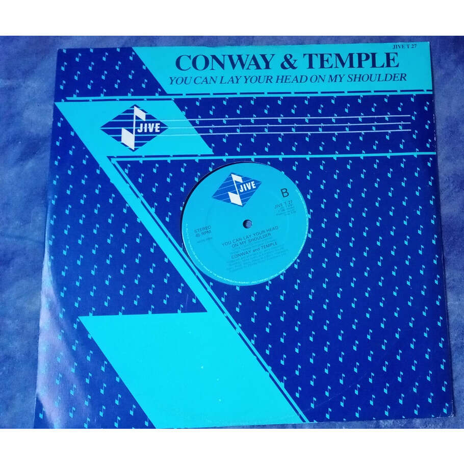 Conway And Temple YOU CAN LAY YOUR HEAD ON MY SHOULDER / instru