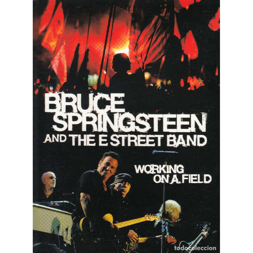 BRUCE SPRINGSTEEN WORKING ON A FIELD DVD