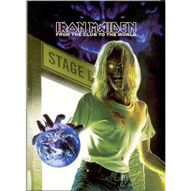 IRON MAIDEN FROM THE CLUB TO THE WORLD DVD