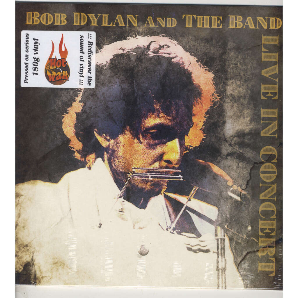 Bob Dylan And The Band Live In Concert