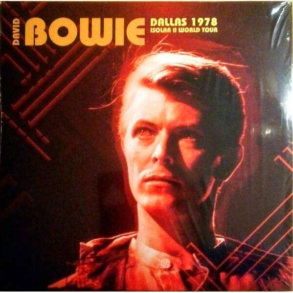 David Bowie Dallas 1978 Isolar II World Tour 2xLP