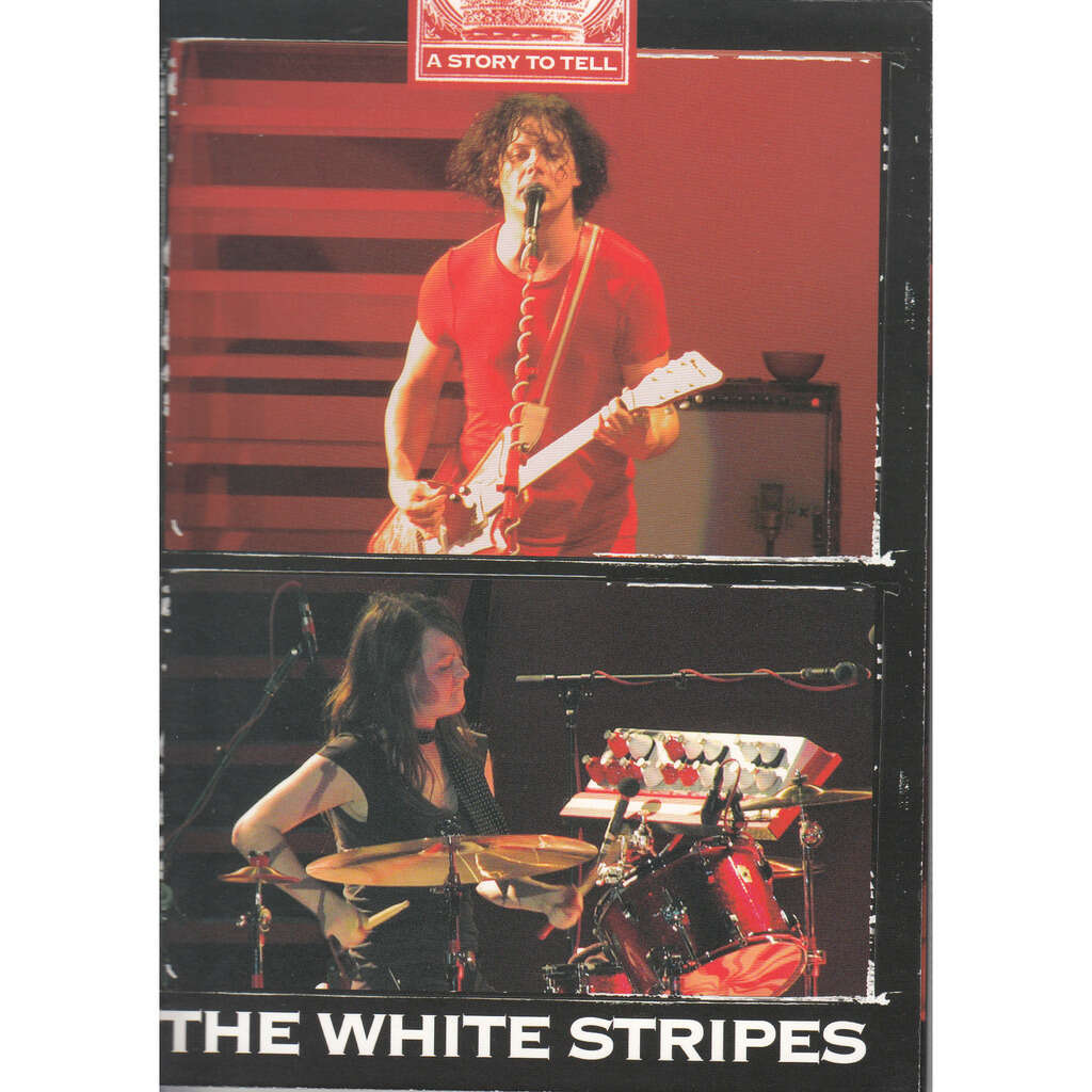 THE WHITE STRIPES A STORY TO TELL DVD