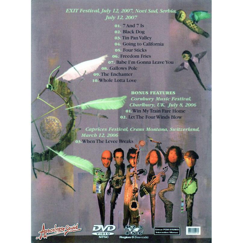 ROBERT PLANT LISTEN TO THIS DRAGON! DVD