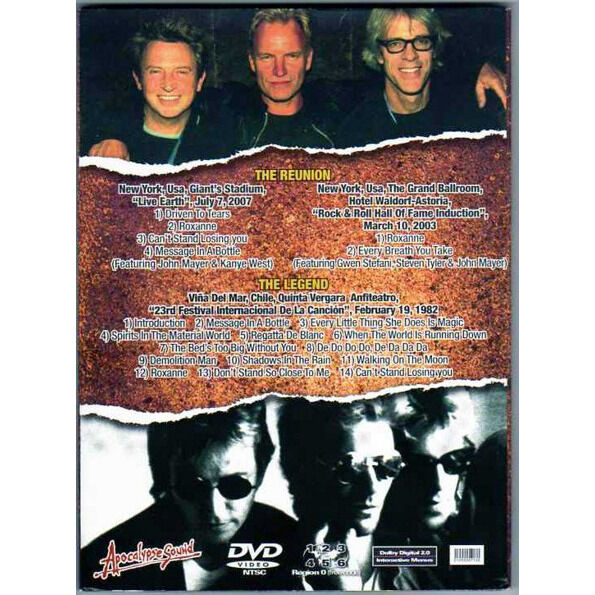 THE POLICE THE BEST OF WHAT'S STILL AROUND DVD