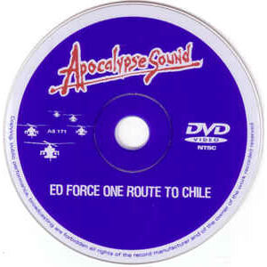 IRON MAIDEN ED FORCE ONE ROUTE TO CHILE DVD