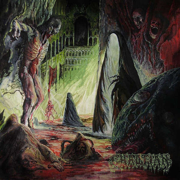 CHAOTIAN Festering Excarnation. Black Vinyl