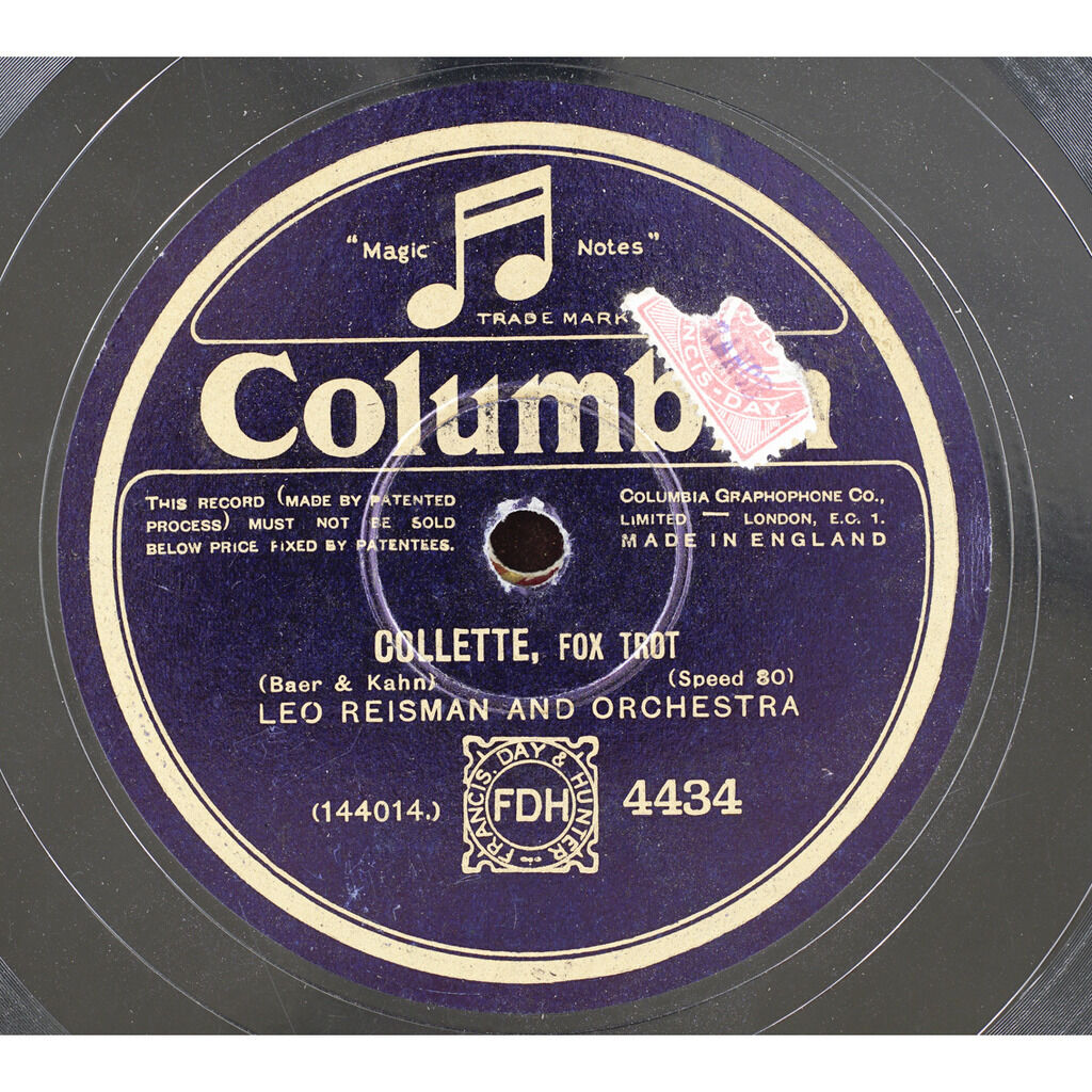 LEO REISMAN and ORCHESTRA Collette / Lucky day