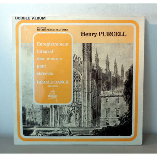 GERALD RANCK HENRY PURCELL Complete cembalo / harpsichord works