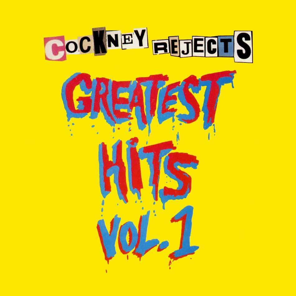 Cockney Rejects Greatest Hits Vol. 1 (lp)