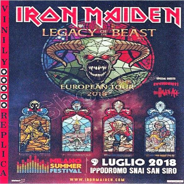 Iron Maiden Live at 'Ippodromo Snai San Siro' (Milano IT 09.07.2018)