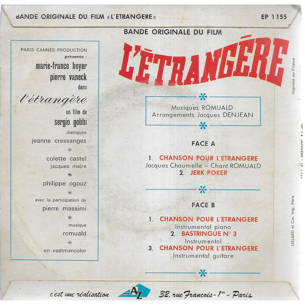 ROMUALD L'Etrangère (BOF)