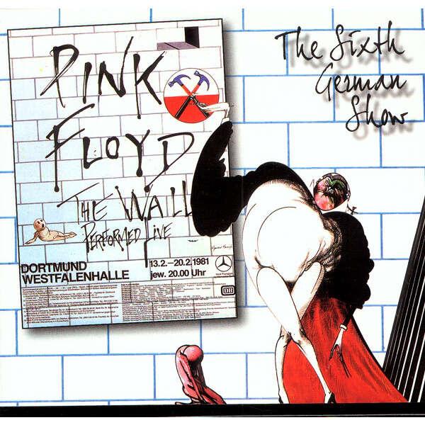 PINK FLOYD THE SIXTH GERMAN SHOW 2CD
