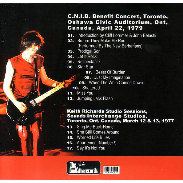 ROLLING STONES COURT ORDER CD