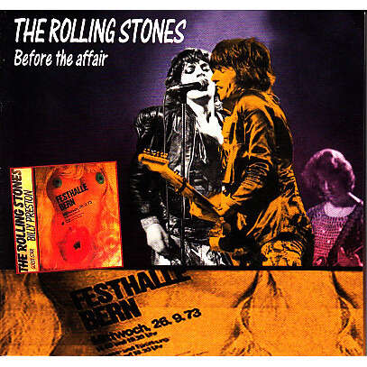 ROLLING STONES BEFORE THE AFFAIR CD