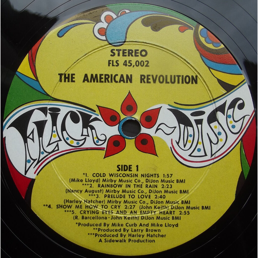 The american revolution the american revolution - cold wisconsin nights