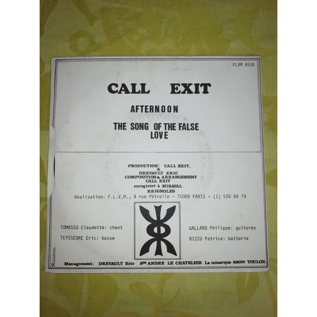 call exit afternoon+1