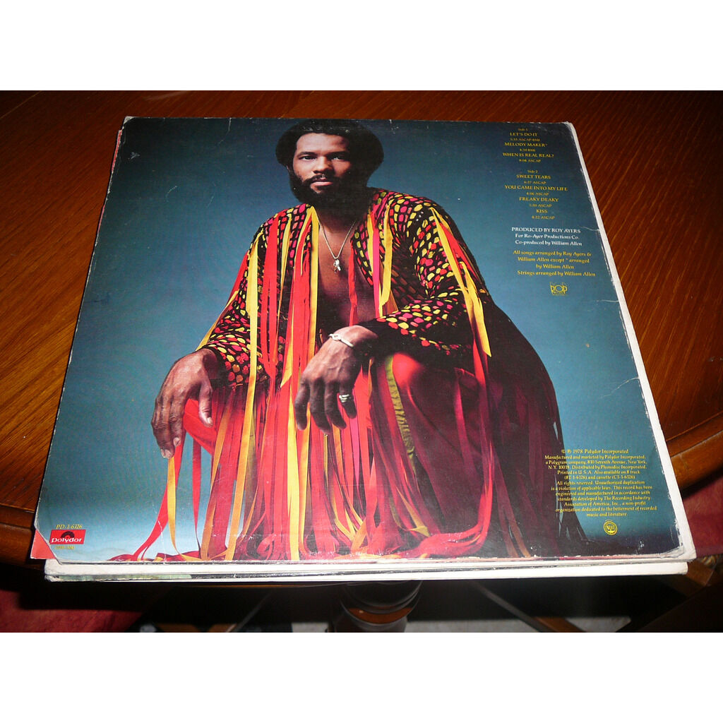 ROY AYERS LET'S DO IT