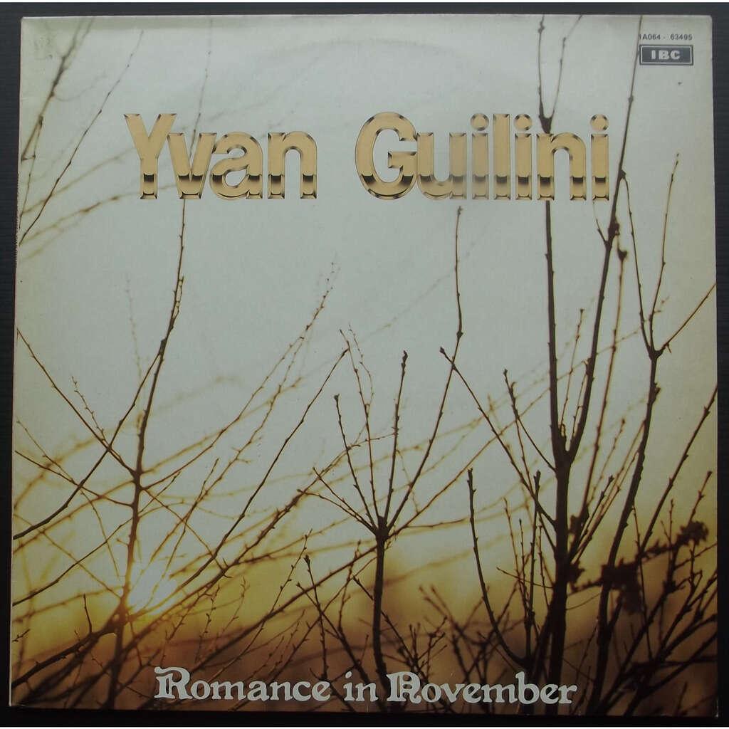 Yvan guilini romance in november