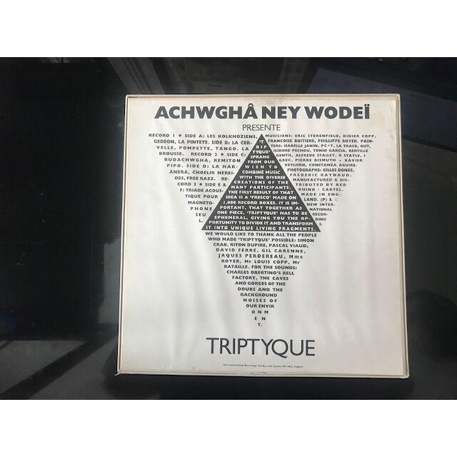 ACHWGHA NEY WODEI Triptyque