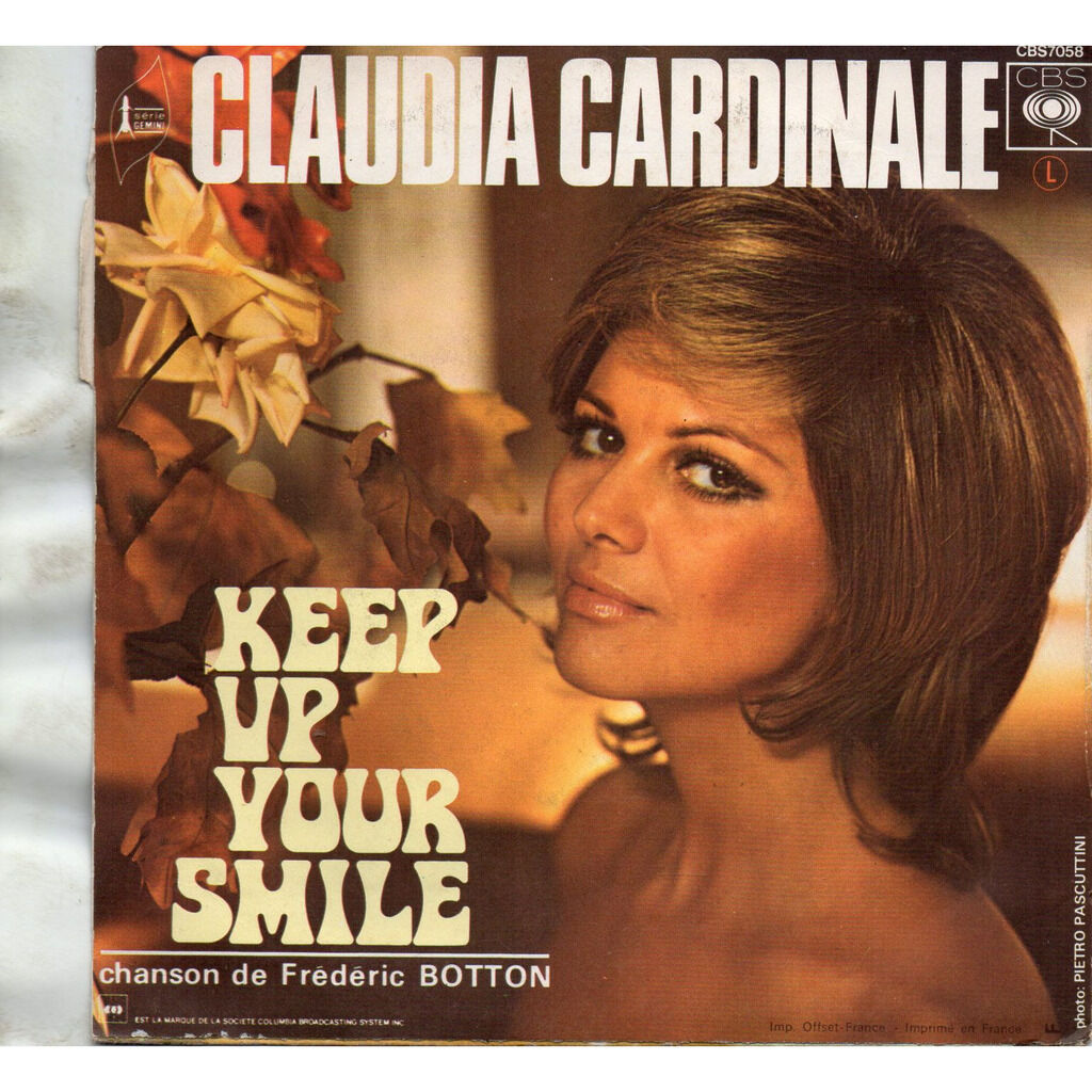 CLAUDIA CARDINALE Popsy Pop's Song / Keep up Your Smile