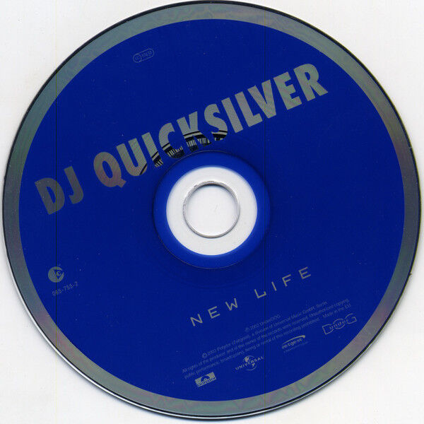 DJ Quicksilver New Life - Best 2003