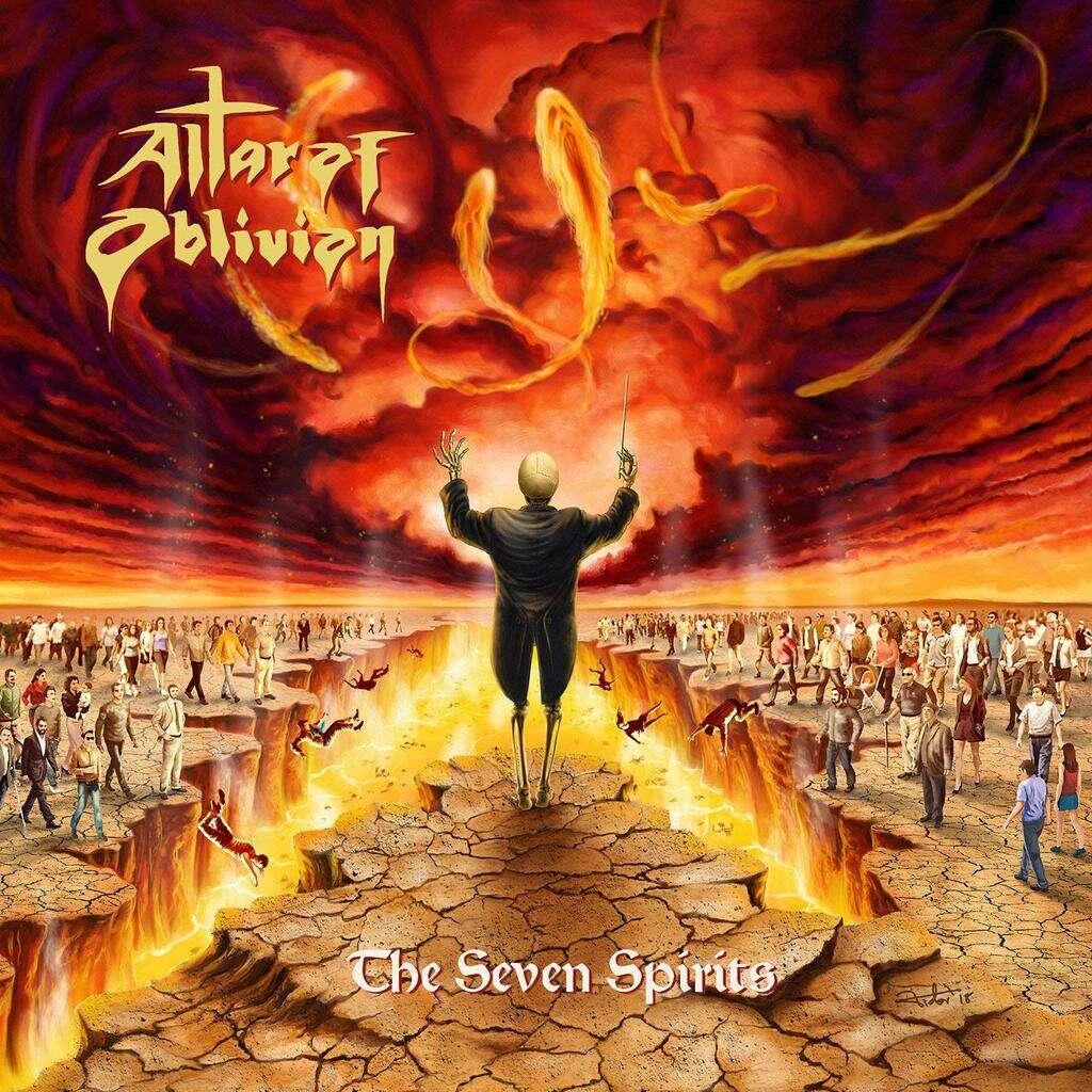 Altar Of Oblivion The Seven Spirits (lp)