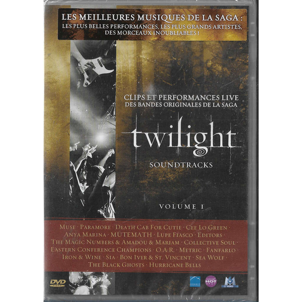 twilight clips et performances live des bandes originales de la saga