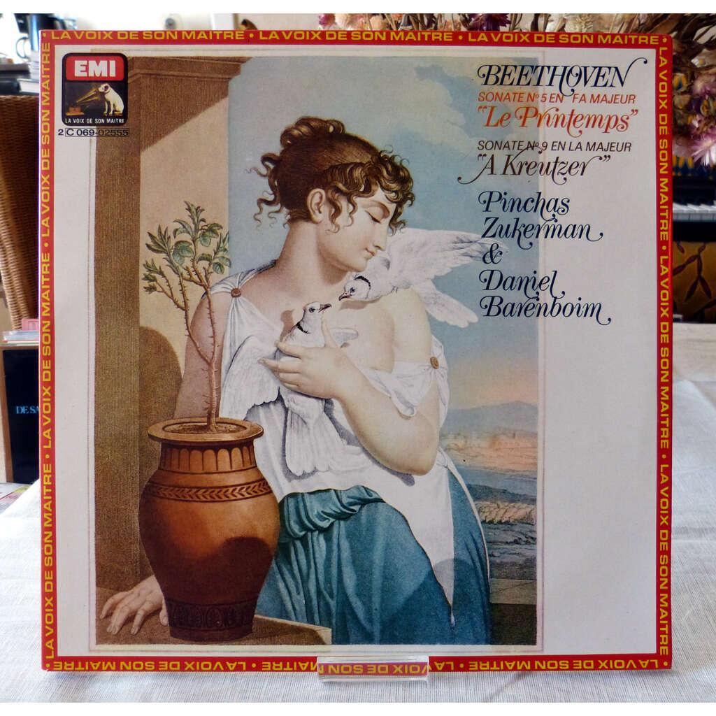 Ludwig Van Beethoven Sonate N°5 le printemps / sonate N°9 A Kreutzer