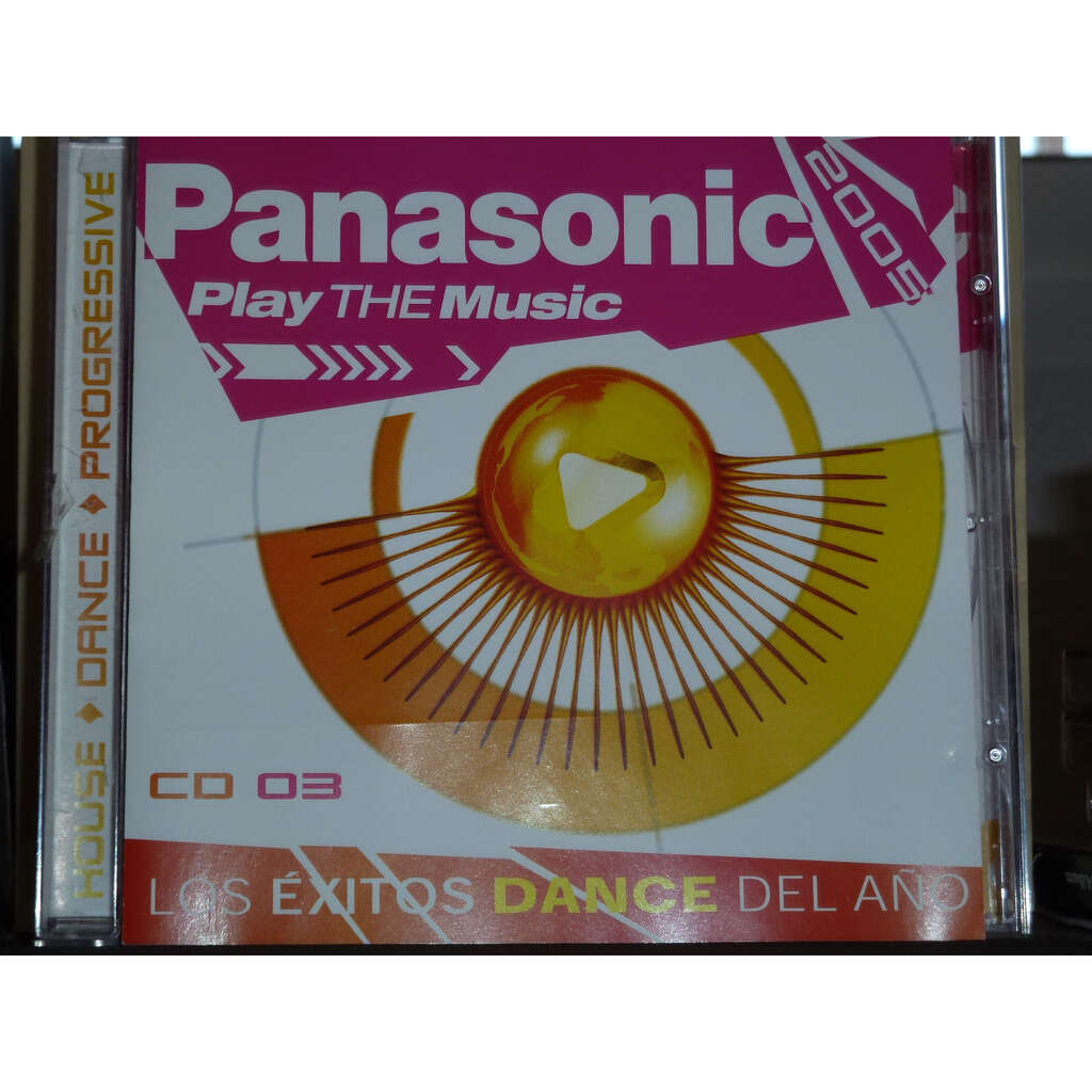 varios , PANASONIC 2005 PLAY THE MUSIC CD 03 LOS EXITOS DANCE DEL AÑO 2005