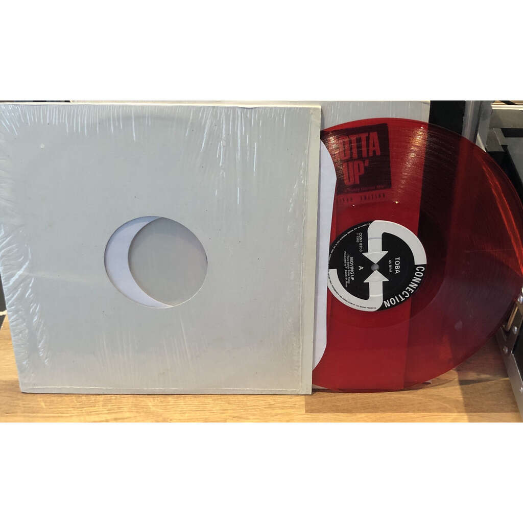 Toba Moving up (Red vinyl 100% original press)