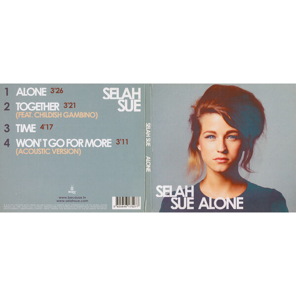 Selah Sue Alone / Together / Time / Won't Go For More (Acoustic version)