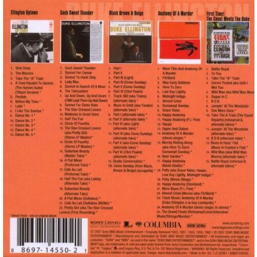 duke ellington 5 Original albums Classics