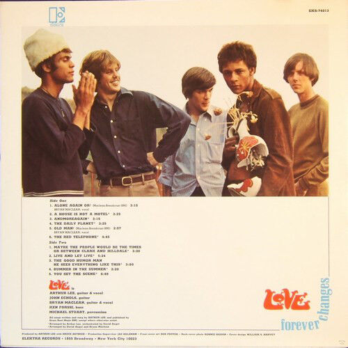 Love Forever changes