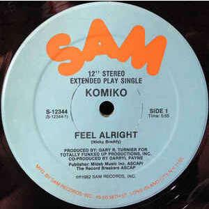 KOMIKO feel alright (extended )