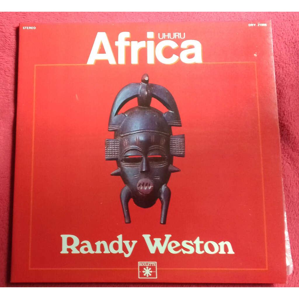 Randy WESTON UHURU AFRICA