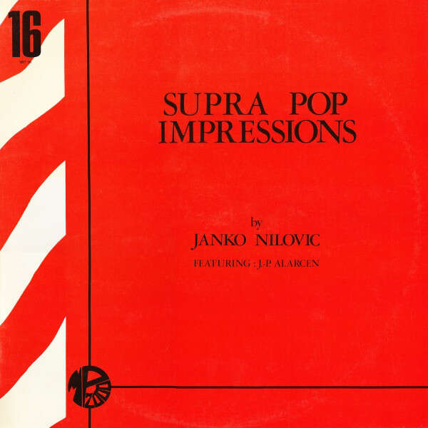 Janko NILOVIC & Jean-Pierre ALARCEN Supra Pop Impressions (original French first press - 1969 - BIEM - Black label)