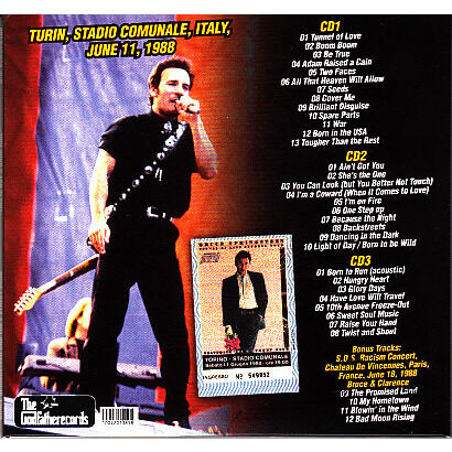 BRUCE SPRINGSTEEN THIS IS NOT A DARK RIDE 3CD
