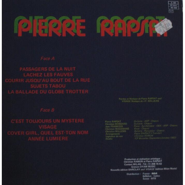 Pierre Rapsat Lachez les fauves