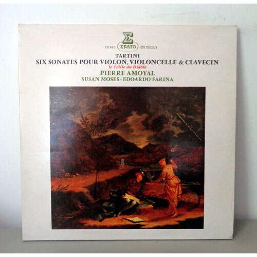PIERRE AMOYAL & EDOARDO FARINA & SUSAN MOSES TARTINI Six sonates pour violon, violoncelle & clavecin  The devil's thrill