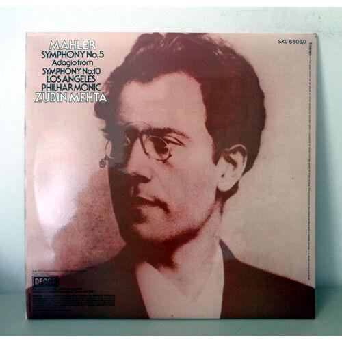ZUBIN MEHTA & LOS ANGELES PHILHARMONIC MAHLER Symphony n°5 & adagio from symphony n°10