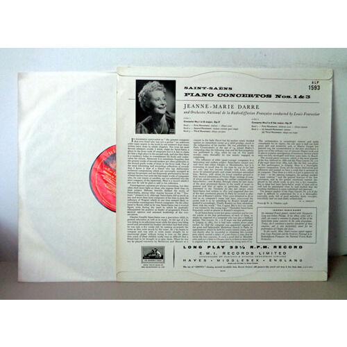 JEANNE MARIE DARRE & LOUIS FOURESTIER SAINT SAENS Piano concertos n°1 & 3