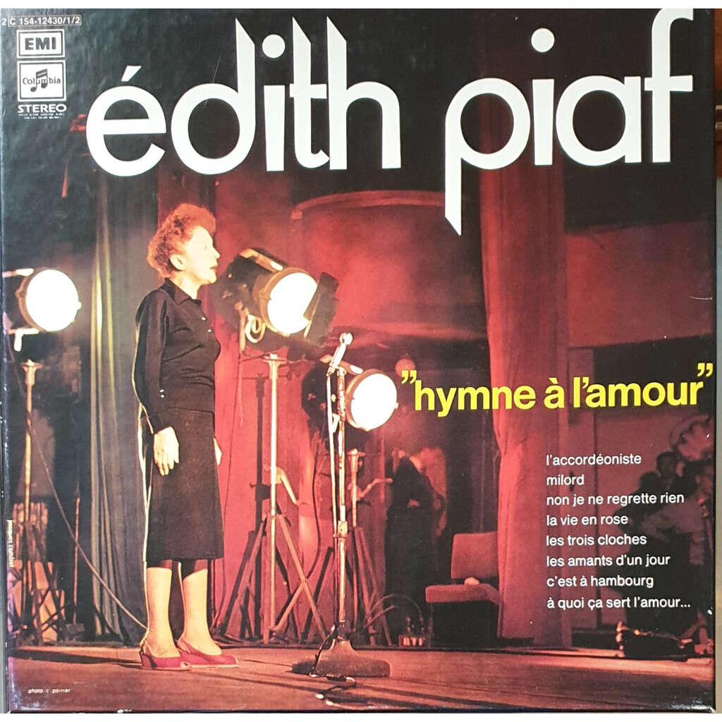 Edith PIAF HYMNE A L' AMOUR avec LIVRET